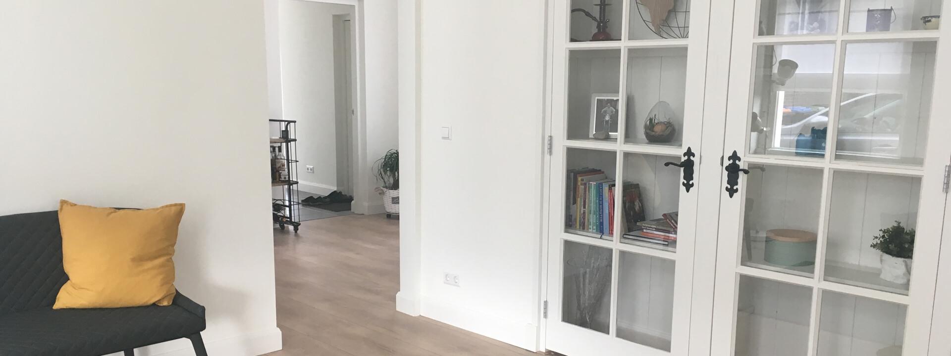 Stucwerk en Airless Latex Spuiten in Rijen