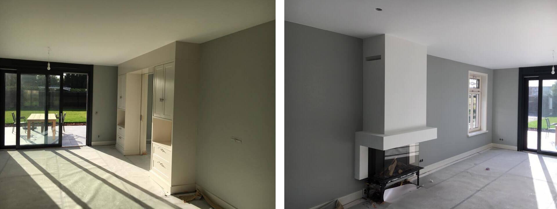 Voordelig latex spuiten op muren en plafonds - Allworks Stuc- en Spuitwerken